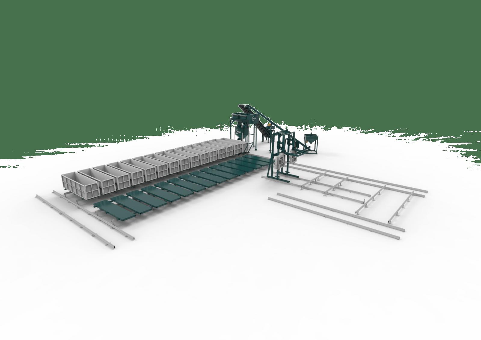 Конвейерные линии пильный комплекс с ЧПУ